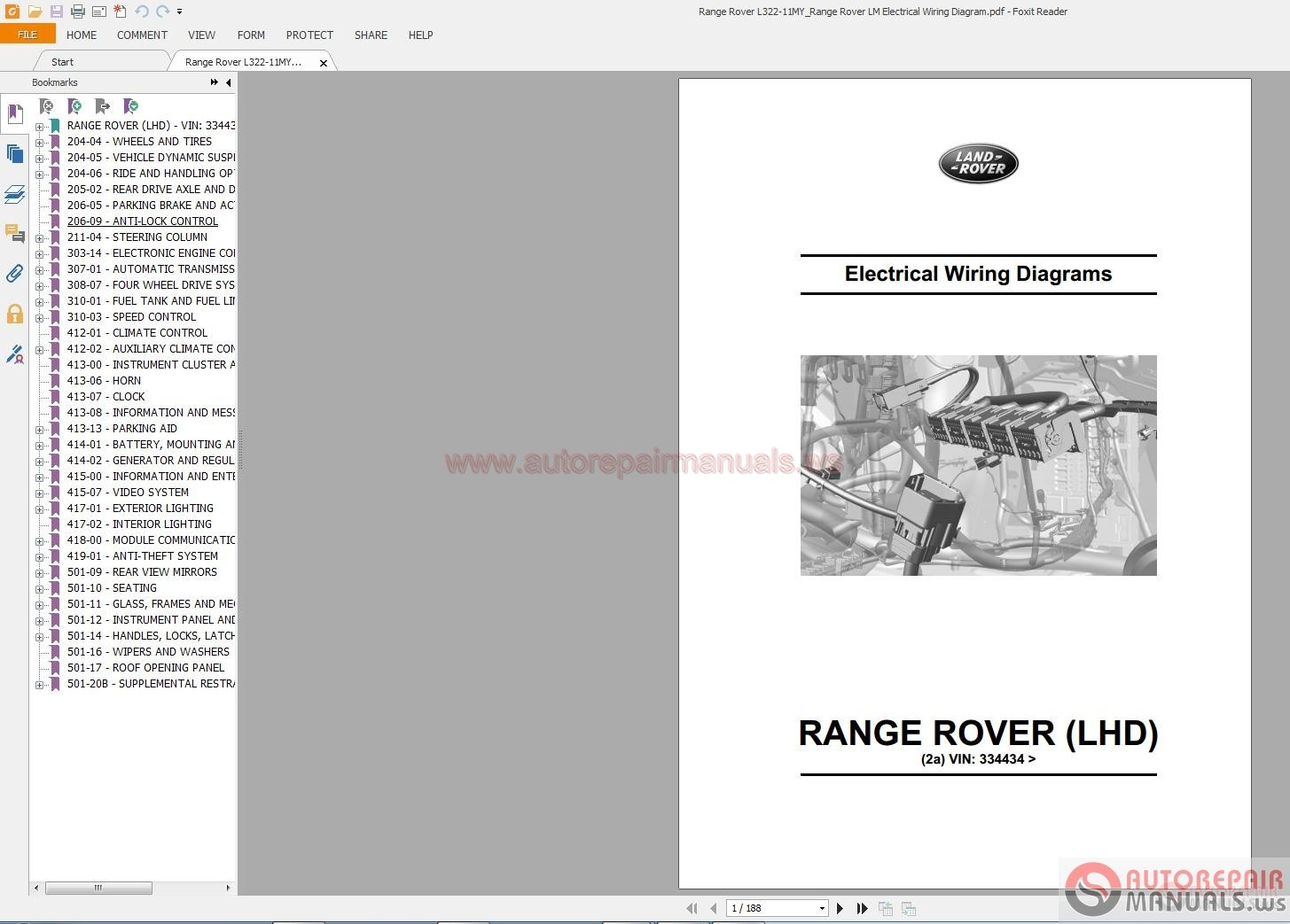 Land    Rover    Range    Rover    L32211MY Range    Rover    LM Electrical