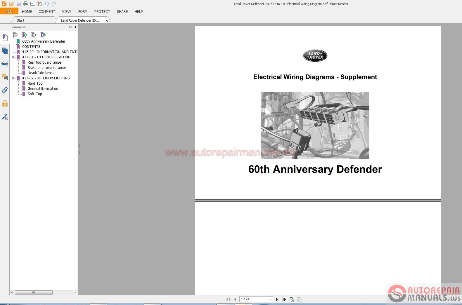 land rover defender wiring diagram land rover electrical diagrams 1995 2010 auto repair manual land rover defender radio wiring diagram land rover electrical diagrams 1995