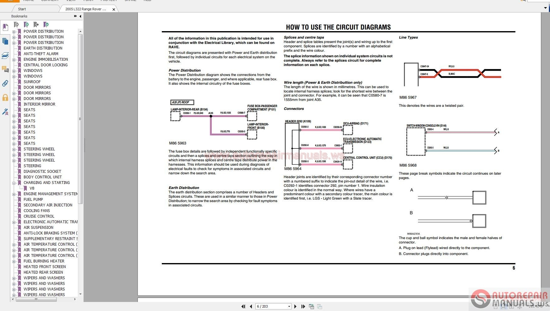 Land rover range rover nas 2005 2008 electrical circuit diagrams img asfbconference2016 Gallery