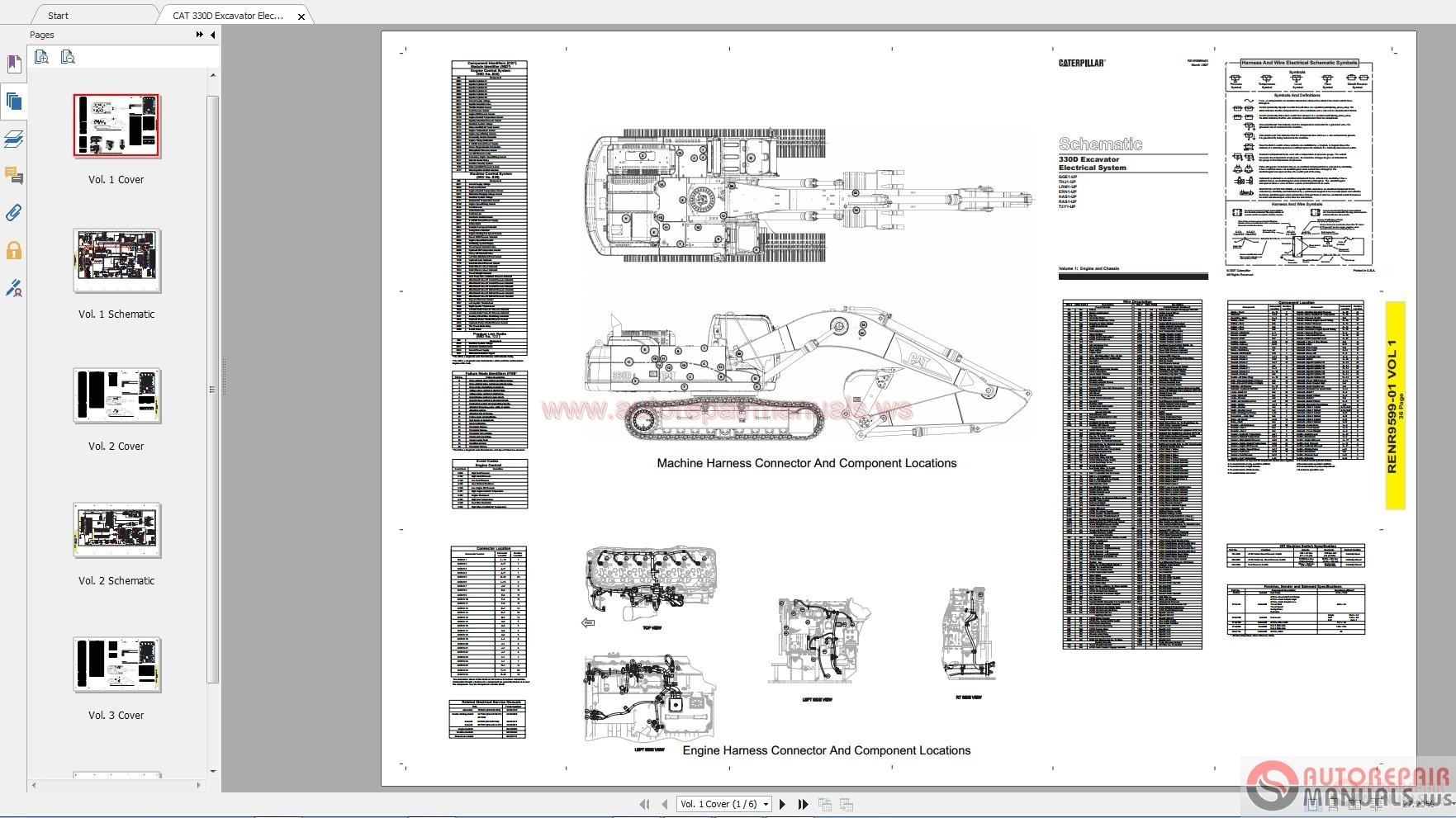 Caterpillar Service Manualschematic Parts Manual Operation And Maintenance Manual Full Dvd Part