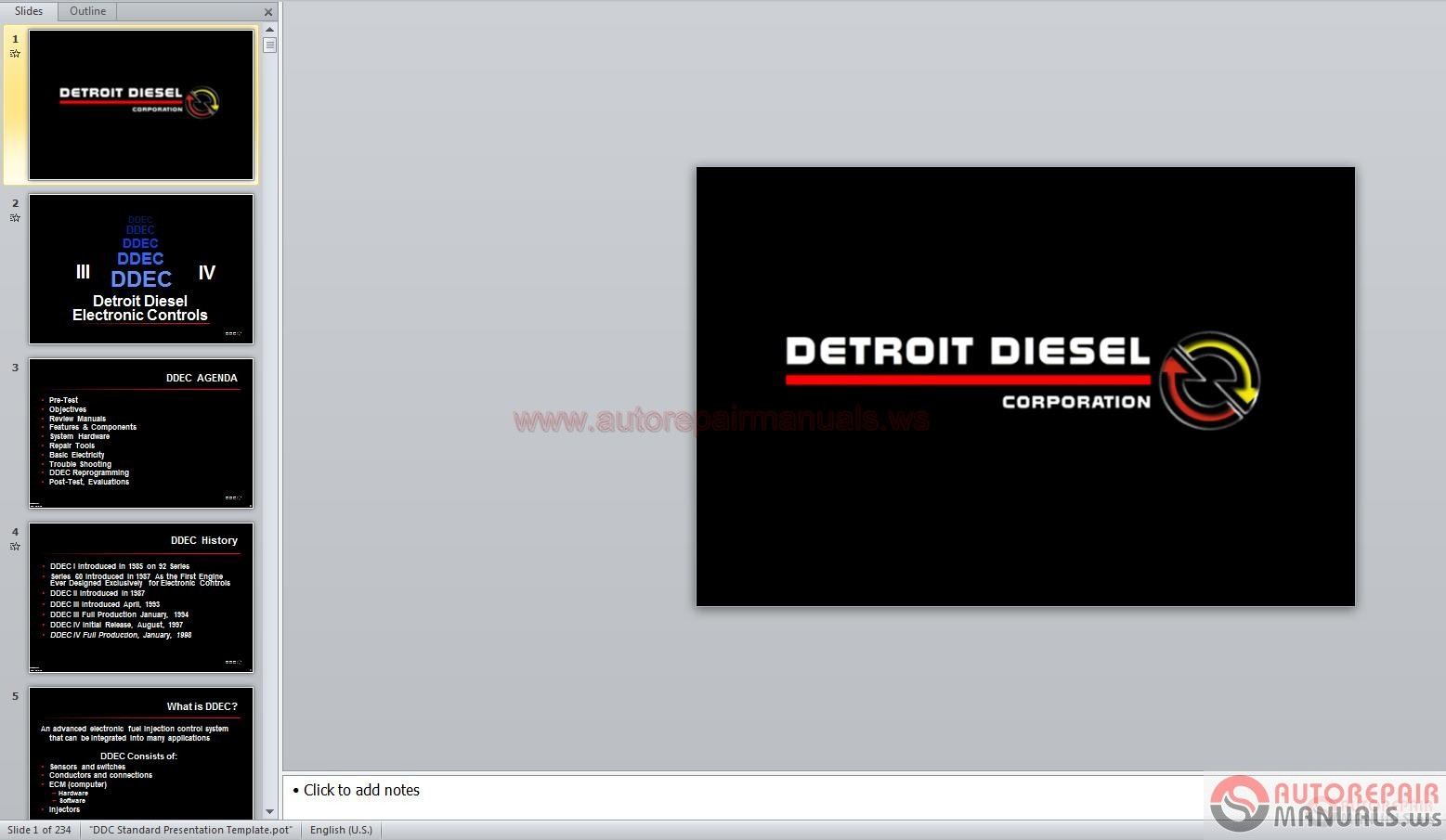 Detroit Full Set Shop Manual Dvd