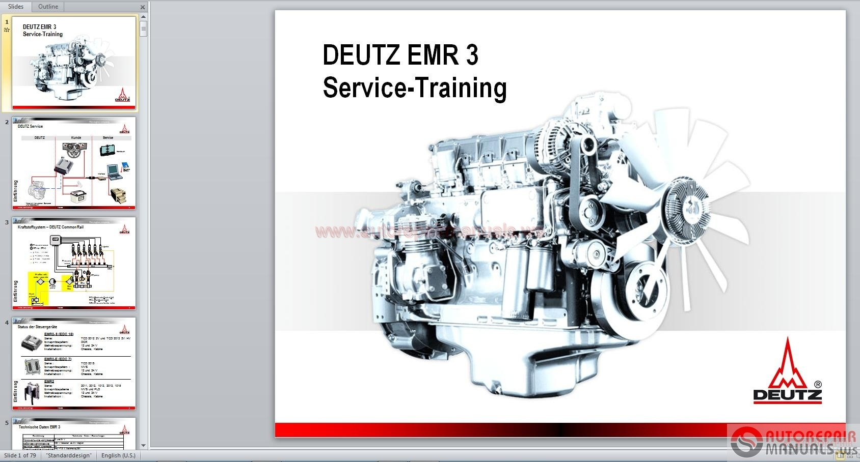 DEUTZ 413 DIESEL ENGINE FACTORY WORKSHOP REPAIR SERVICE MANUAL