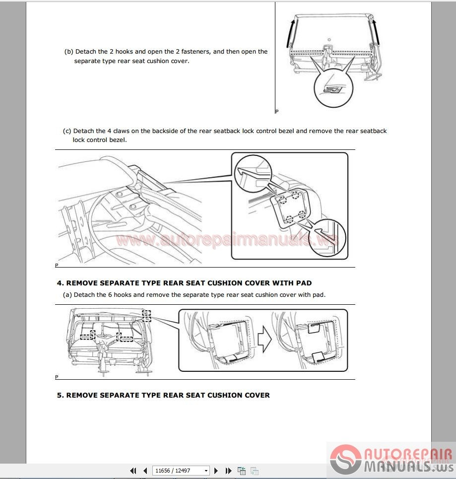Auto Repair Manuals  Toyota Tundra 2015 Service Manual