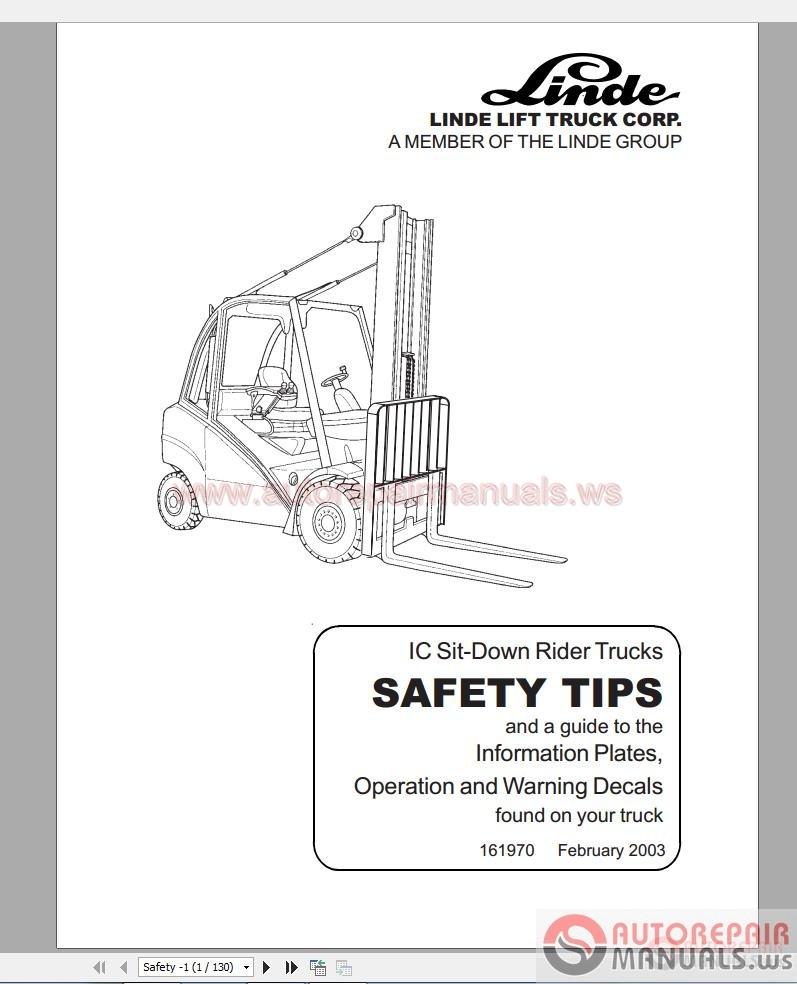 toyota electric fork lift parts catalog