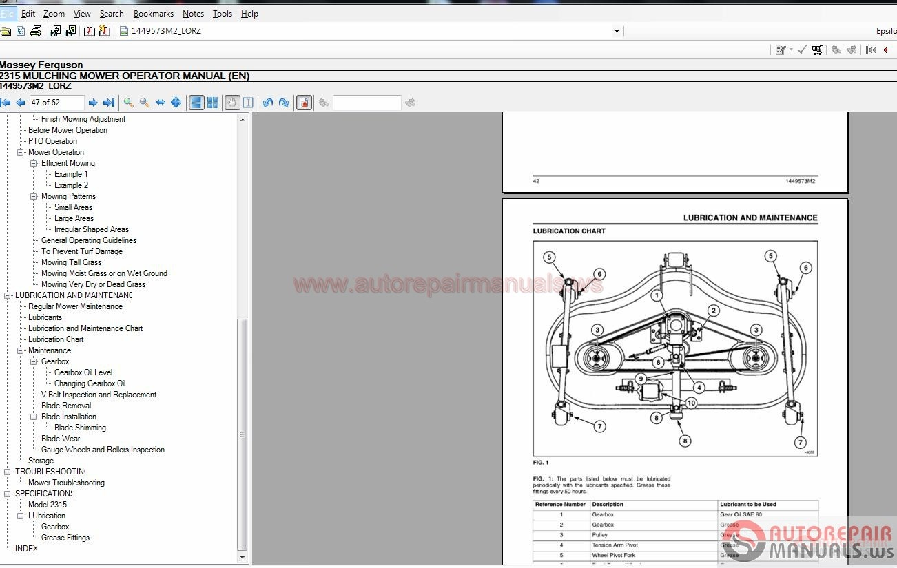 Agco Massey Ferguson Nord America Workshop Manual Full Keys on Massey Ferguson Parts Catalog