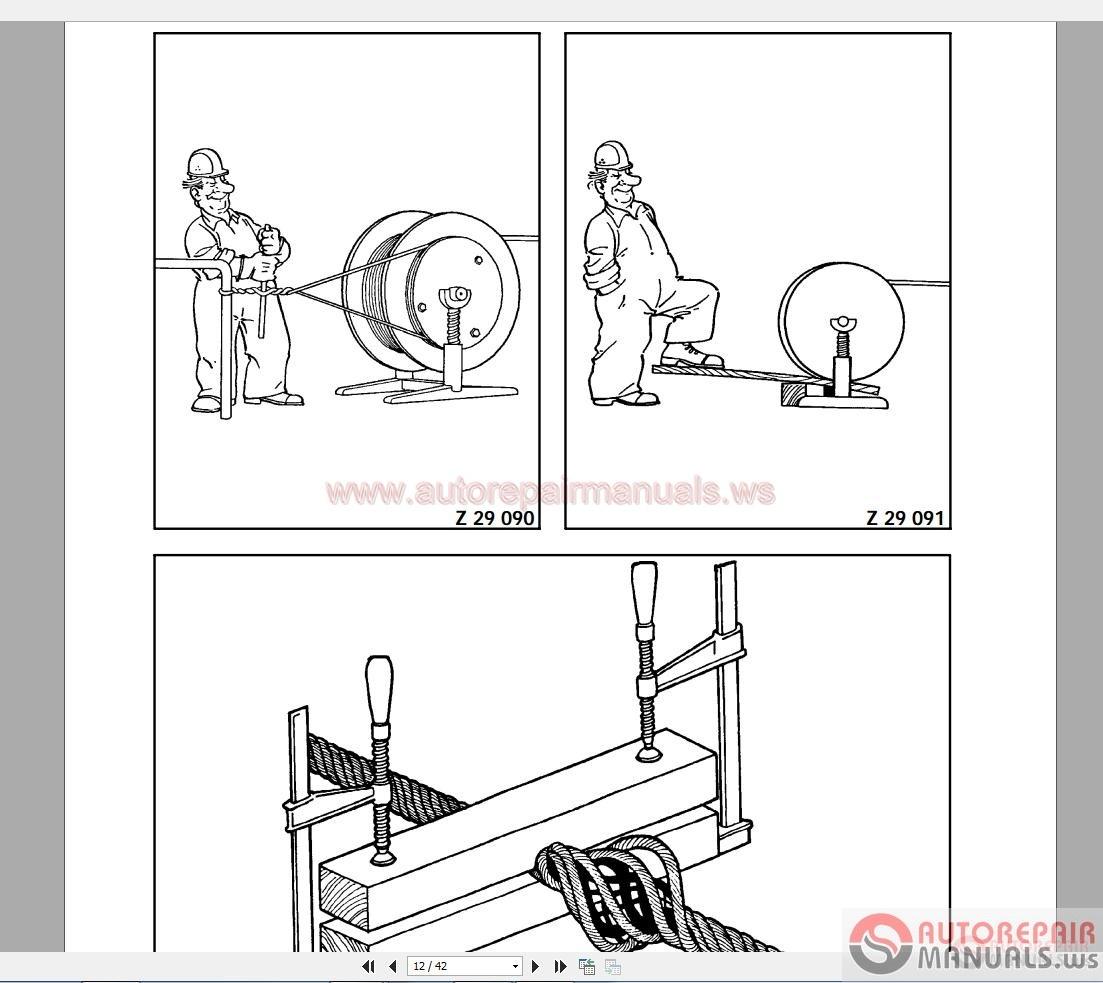 terex demag tc 2600 500t shop manual auto repair manual. Black Bedroom Furniture Sets. Home Design Ideas