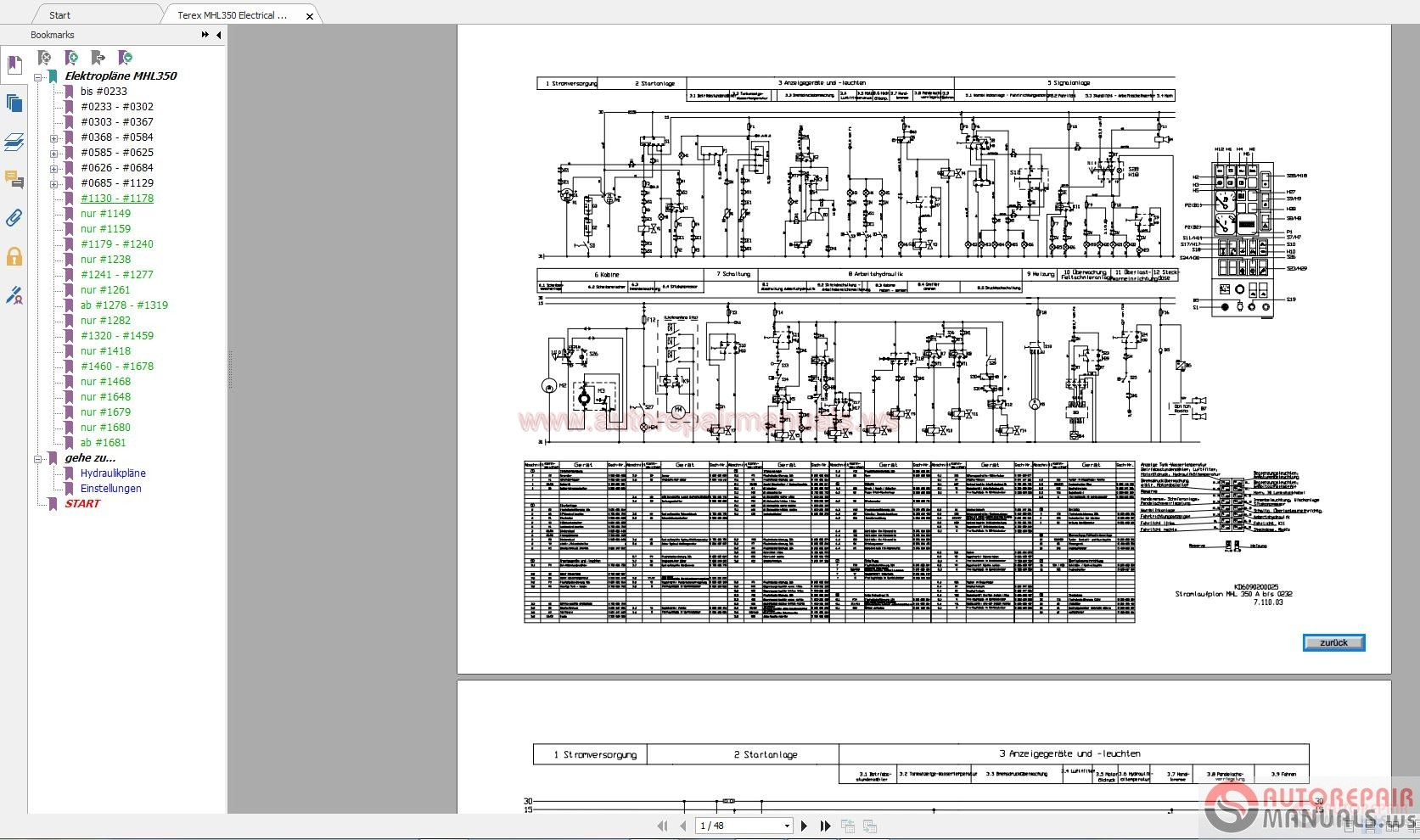 Terex Tb60 Repair Manual Pdf Download Diversityteamorg 867186 Wiring Diagrams Mhl350 Electrical Diagram Auto Forum