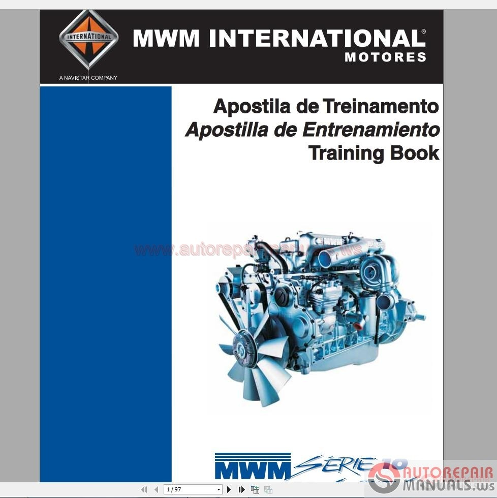 International Truck Full Set Manual DVD   Auto Repair