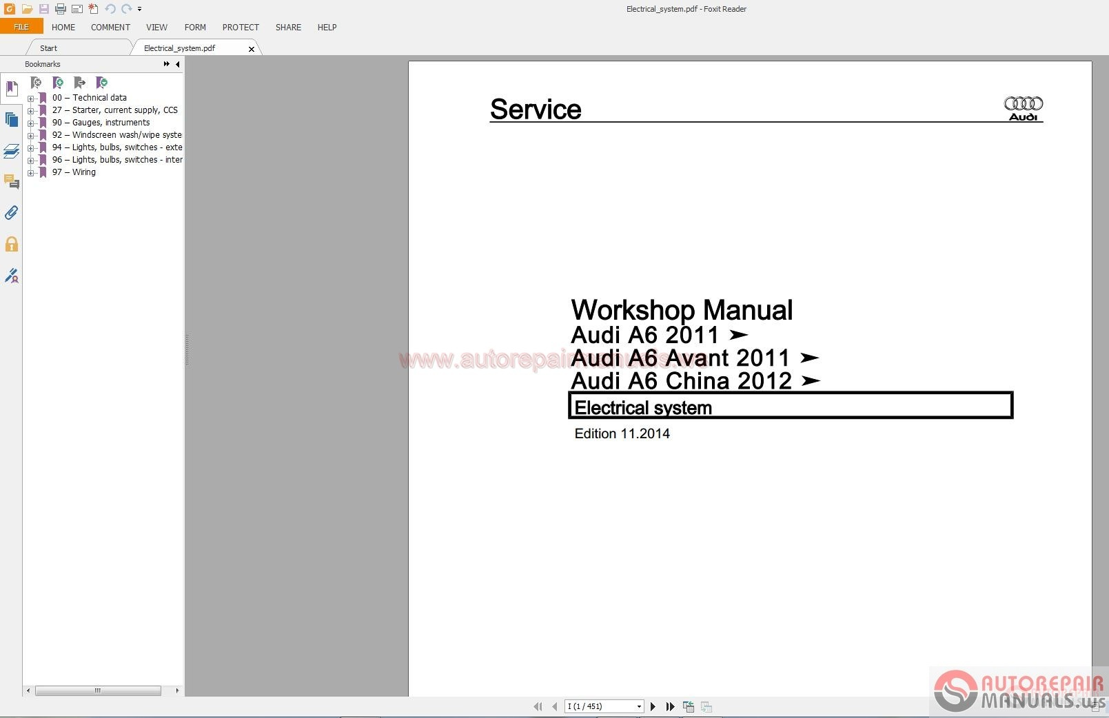 Audi A Shop Manual on Audi A5 Wiring Diagrams Pdf