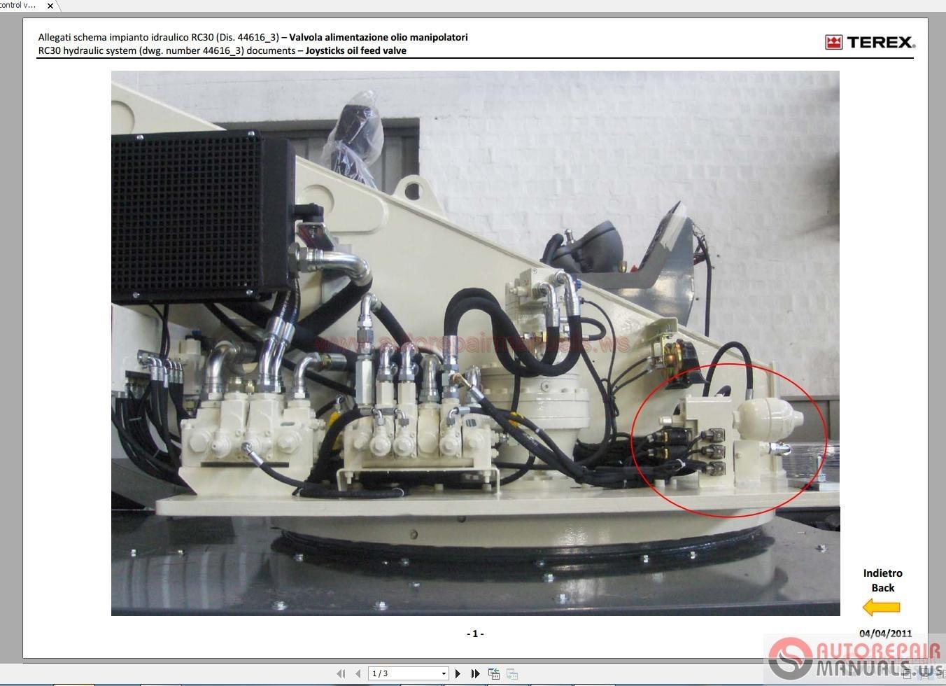 Terex Rough Terrain Crane Rc30 Workshop Manual