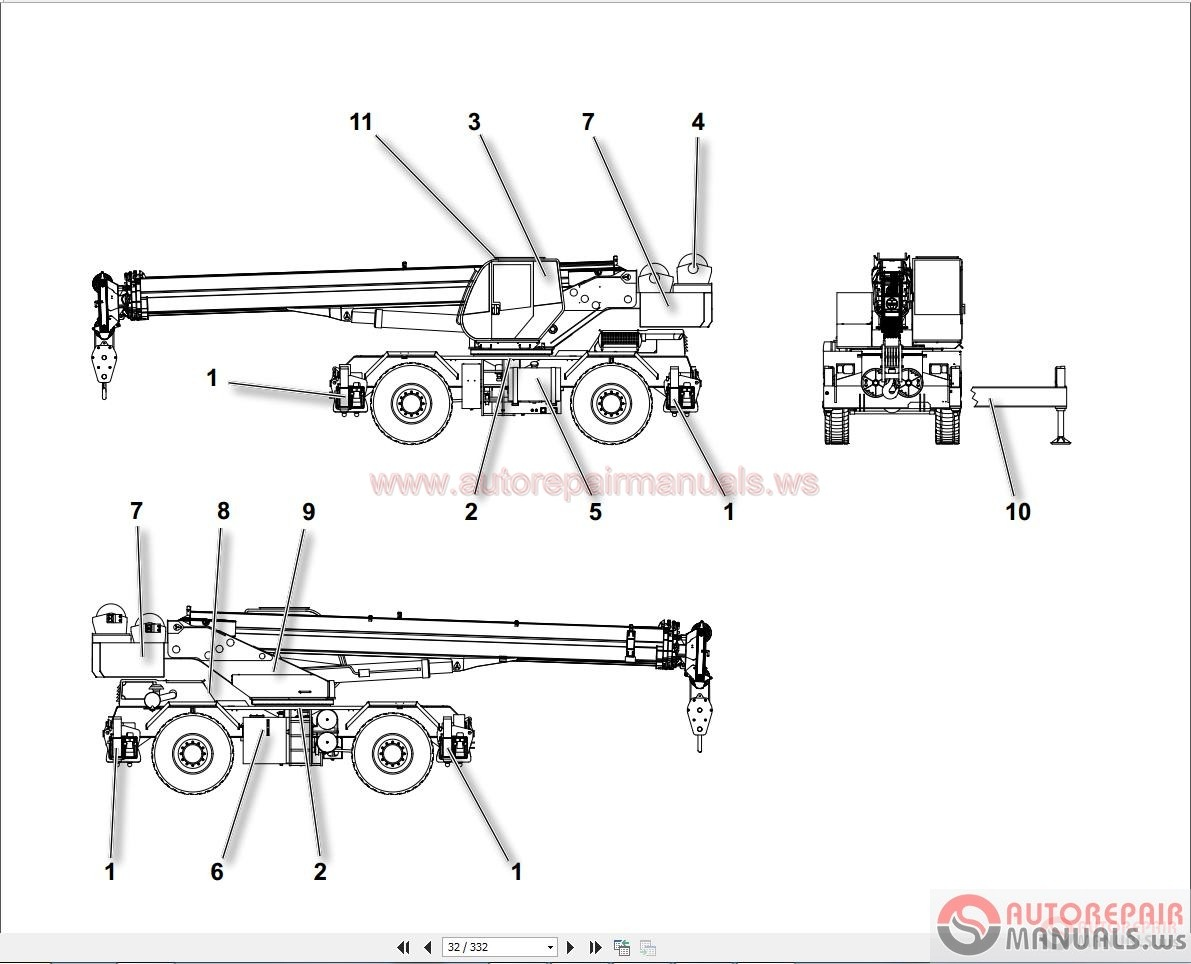 Terex Backhoe Manual