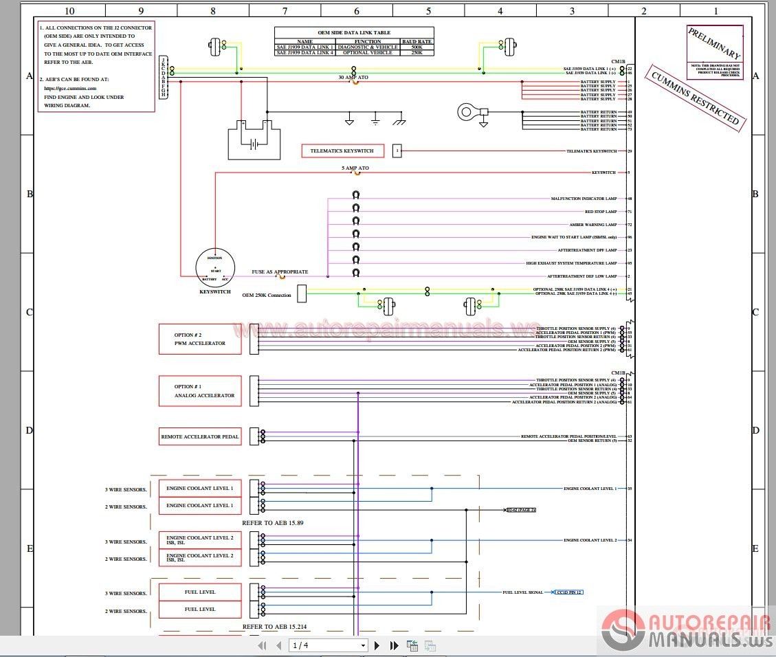 Cummins_X 15_X 12_Complete_Data2 diagram free auto repair manuals page 40 beta rev 3 wiring diagram at aneh.co