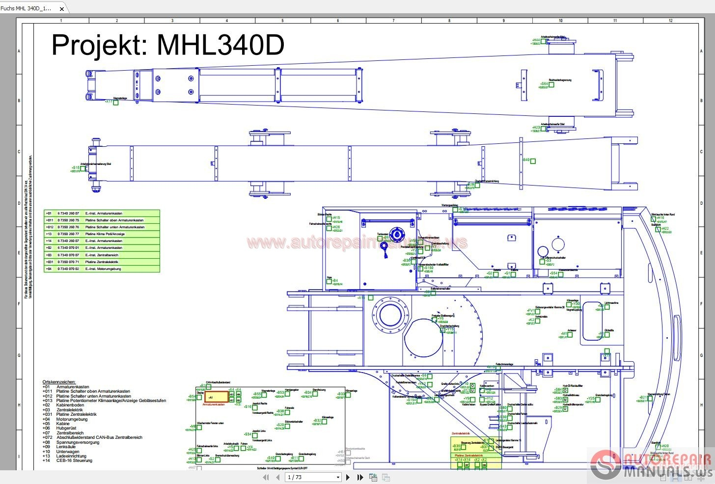 Terex Fuchs Mhl 340d 1350 Wiring Diagram Auto Repair Manual Forum Diagrams Click Here Download