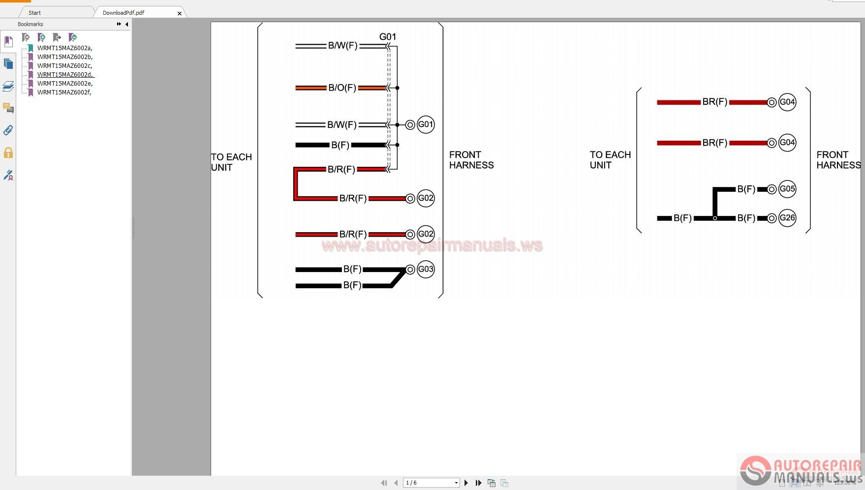 Mazda L Wiring Diagram on G Body Wiring Diagram