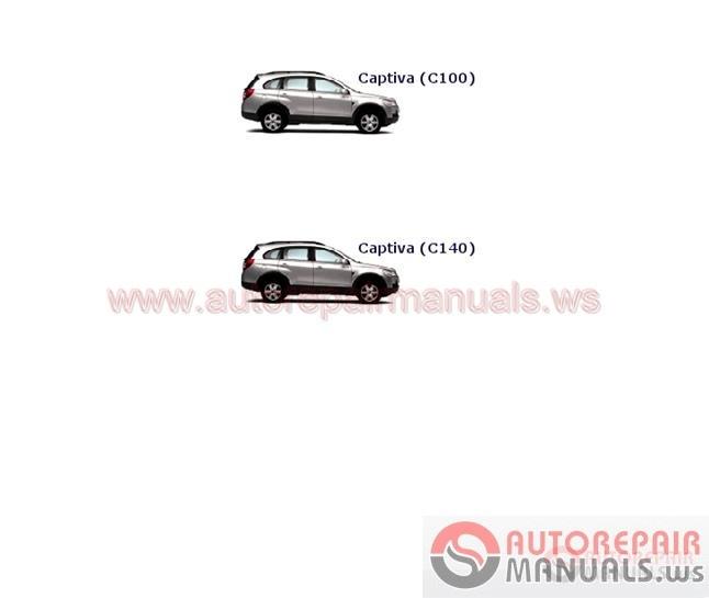 Chevrolet Euro Service Manual 20092011   Auto Repair