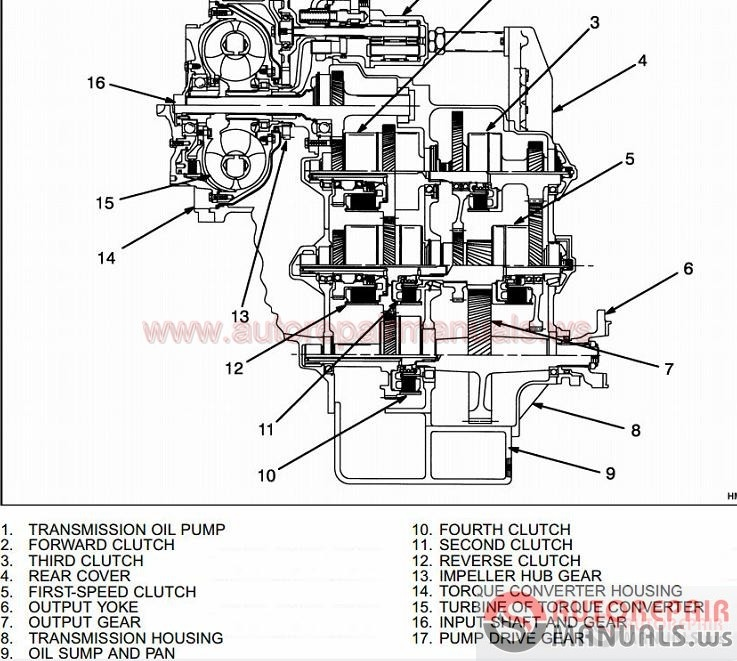 paccar mx engine exploded view