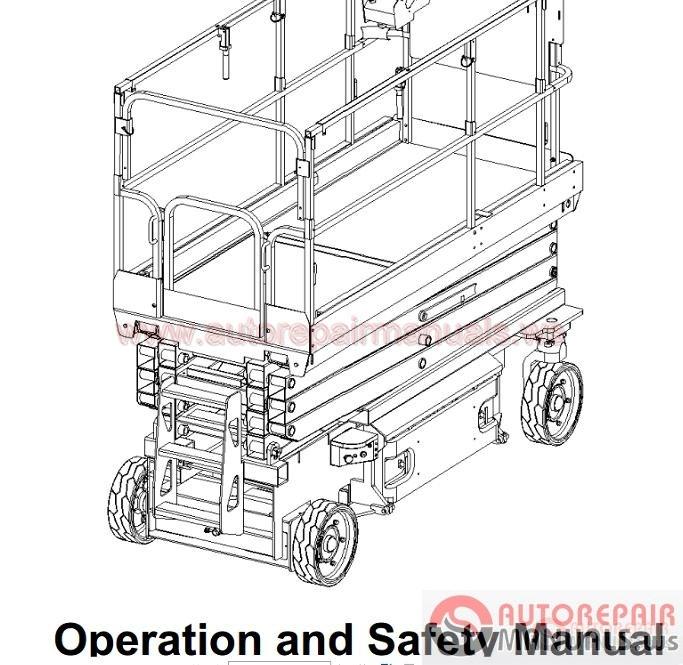 toyota fork lift parts manuals