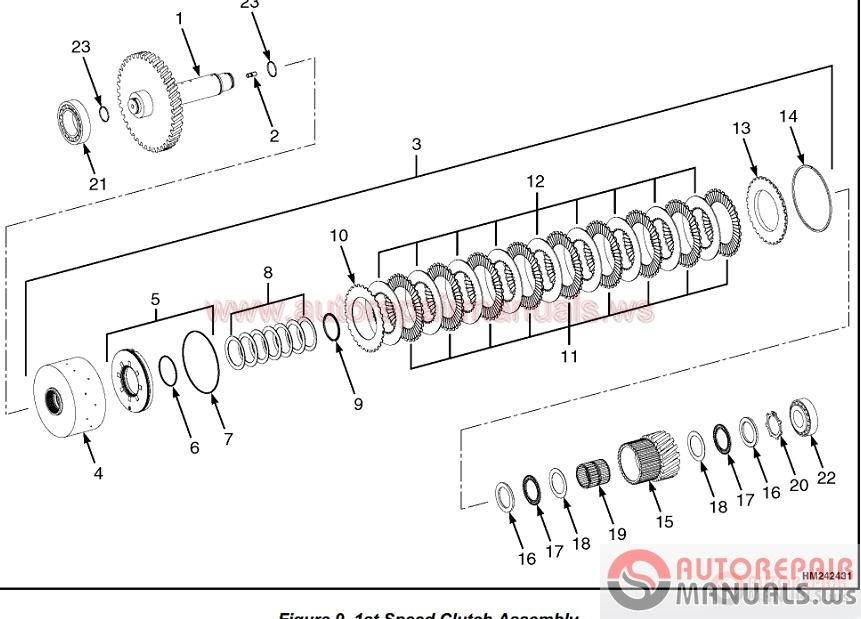 zf transmission all model full set manual