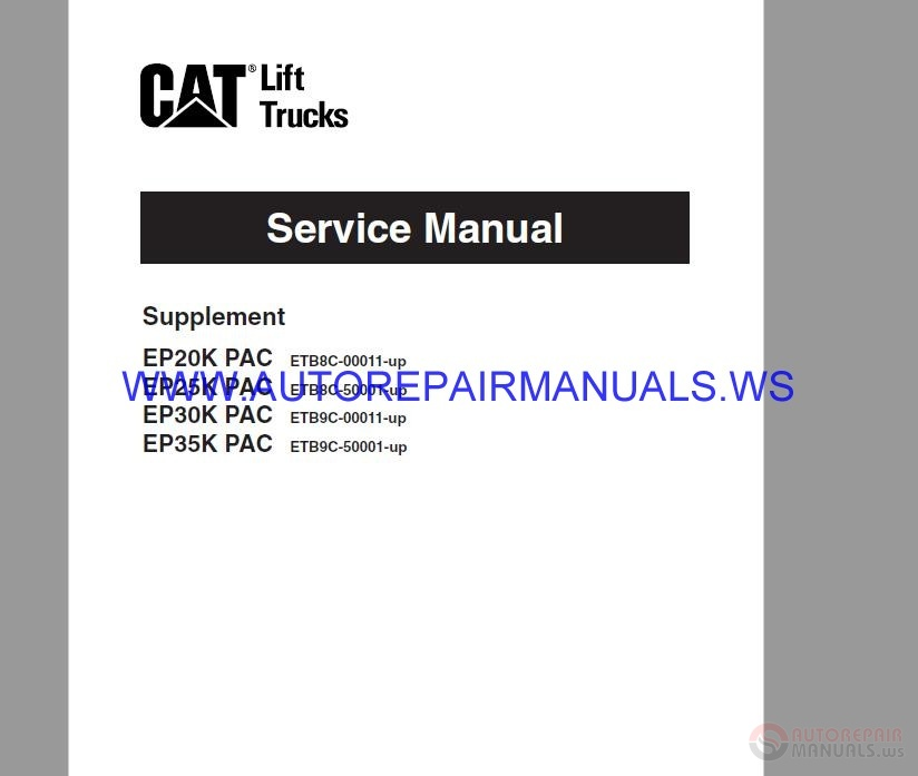 cat c12 starter wiring diagram    cat    service manual ep ep35k pac auto repair manual forum     cat    service manual ep ep35k pac auto repair manual forum