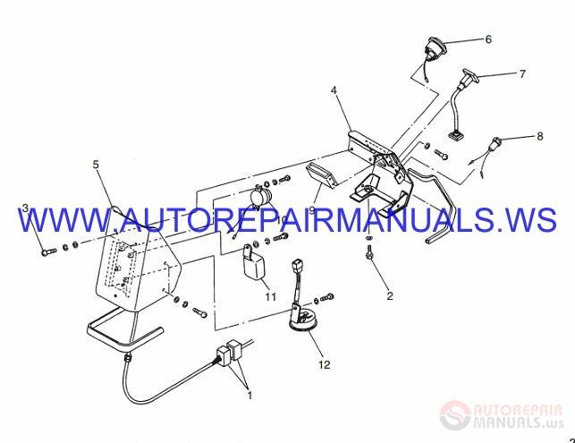 auto repair manuals  forklifts diesel counterweight dp150