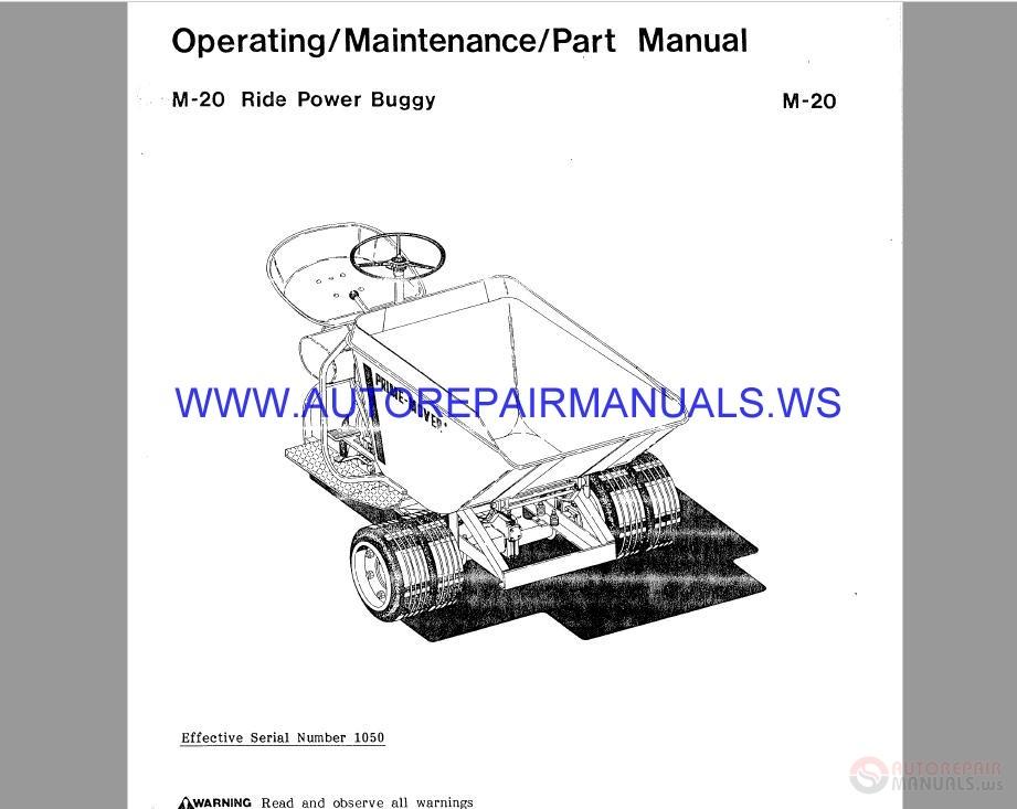 Prime Mover Parts Manual | Auto Repair Manual Forum - Heavy