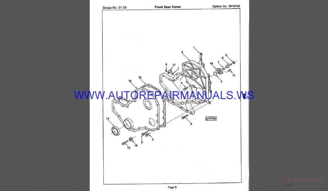 Cummins Set Parts Catalog Cd