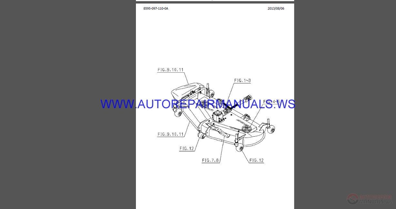 Iseki Full Set Parts Catalogue DVD Auto Repair Manual