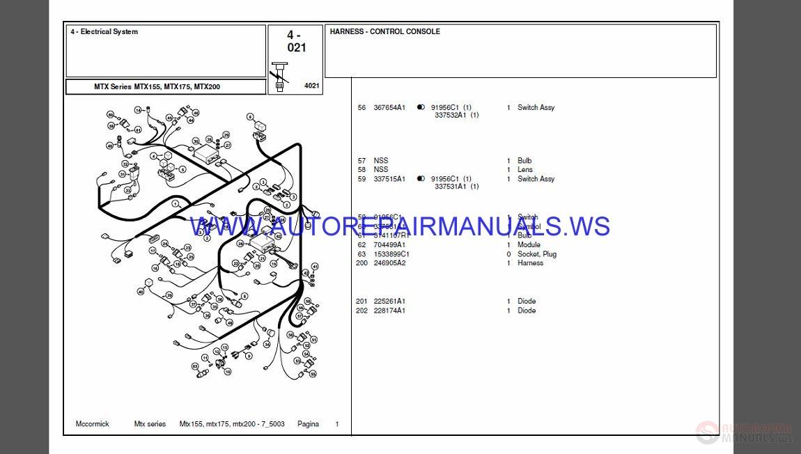 McCormick Full Set Parts Manual DVD | Auto Repair Manual Forum - Heavy Equipment Forums ...