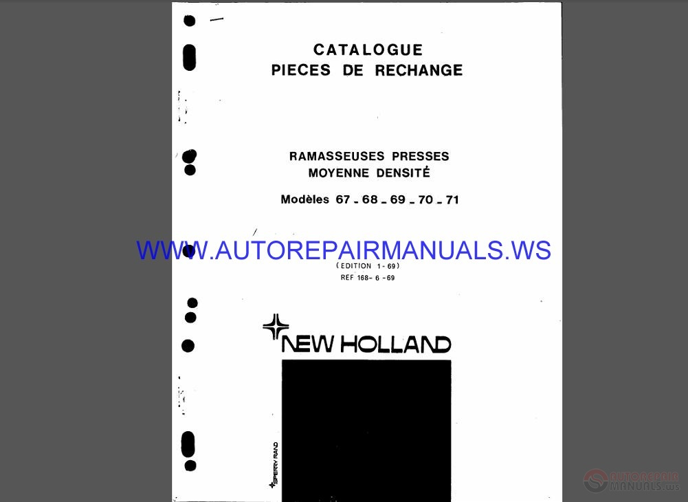 new holland 1530 service manual