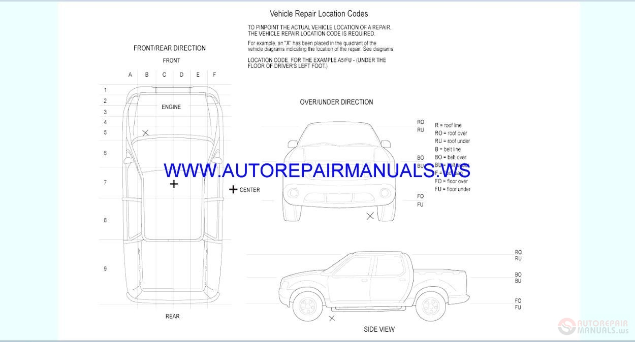 ford ranger   wiring diagrams manual auto repair
