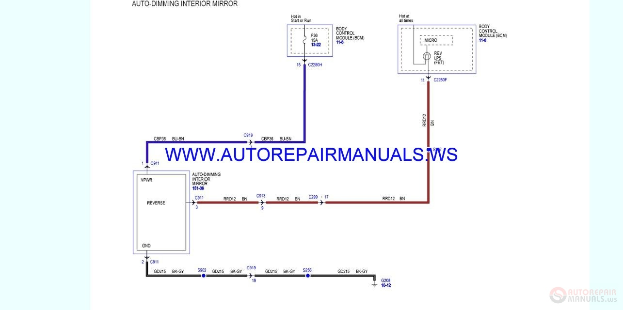 Ford       Ranger    2015   2016    Wiring    Diagrams    Manual   Auto Repair