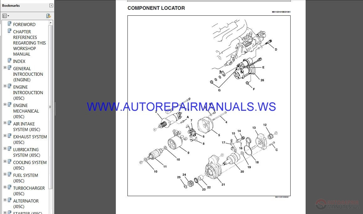 Hino 700 Series Repair Manual