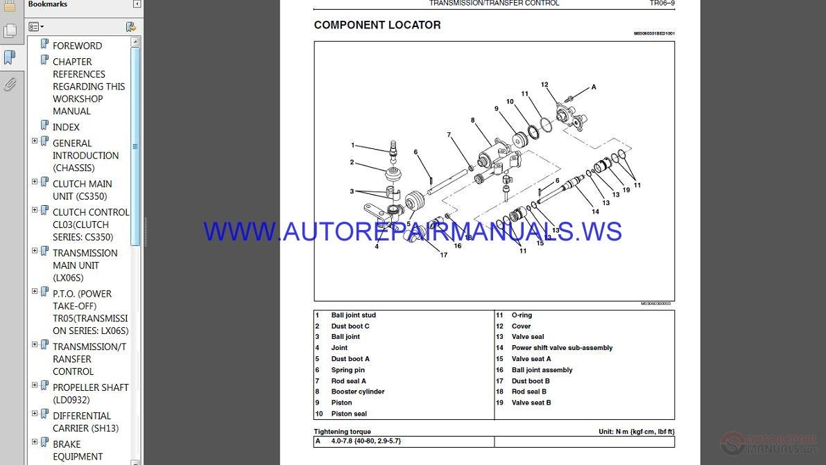 HINO Truck FC4J Service Manual | Auto Repair Manual Forum - Heavy