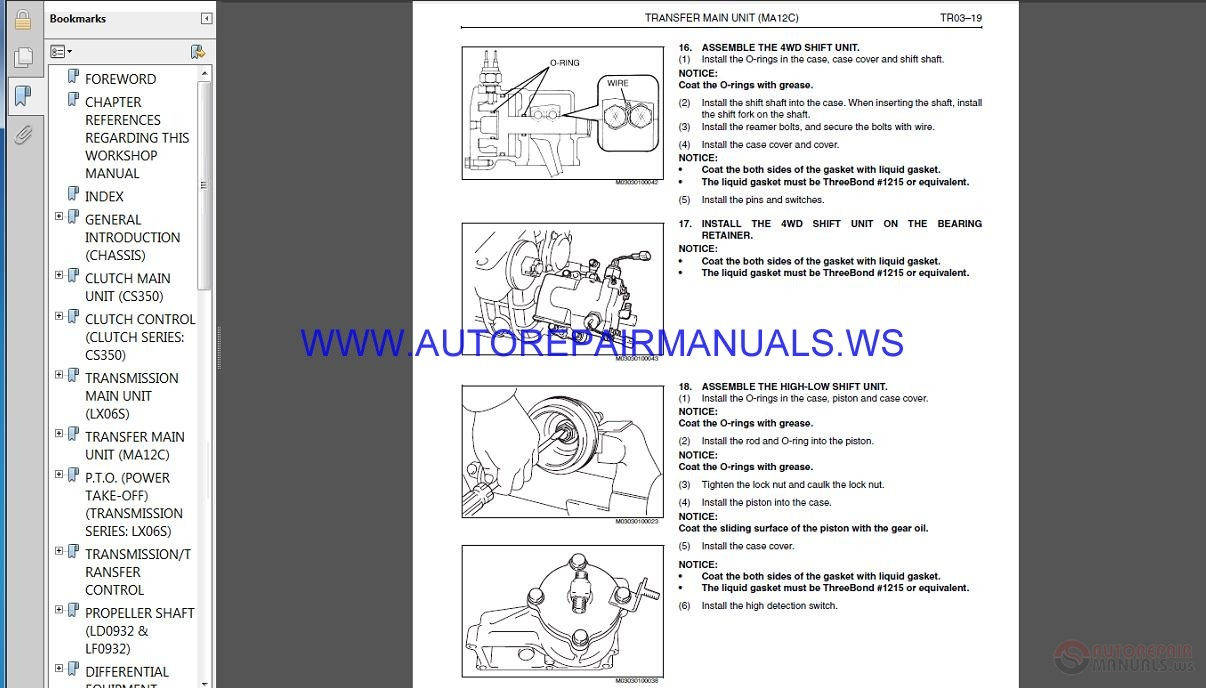HINO Truck FT1J GT1J Service Manual | Auto Repair Manual Forum