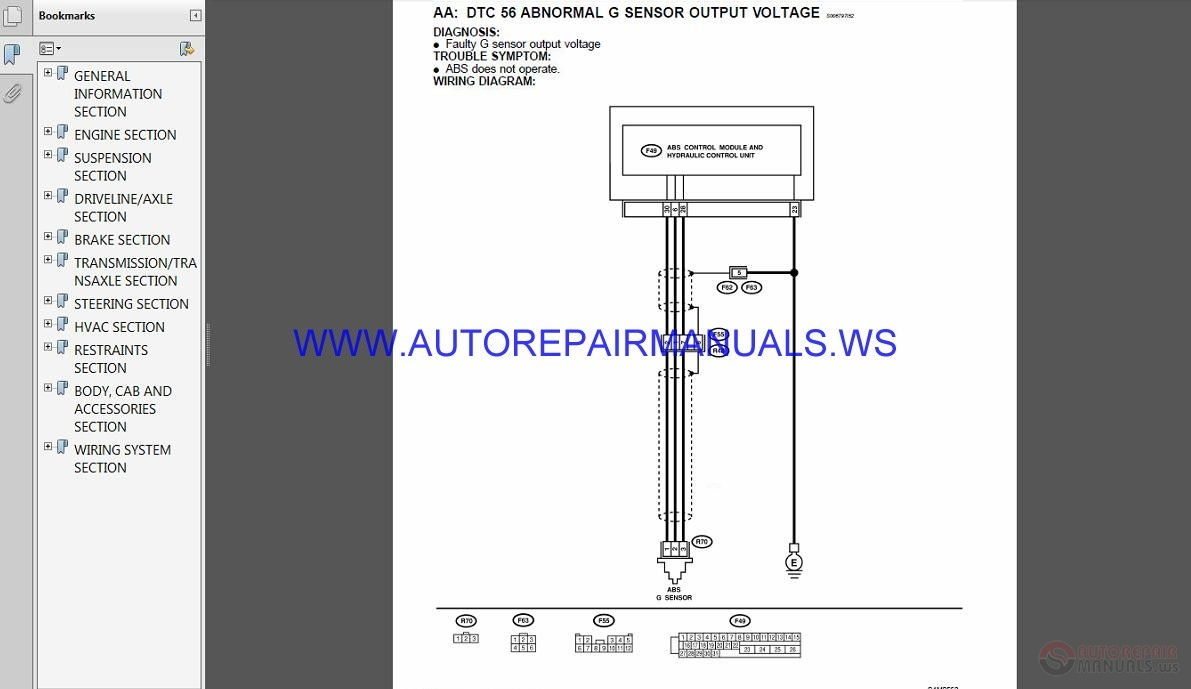 Subaru Forester S10_2002 Service Manual | Auto Repair Manual ... on