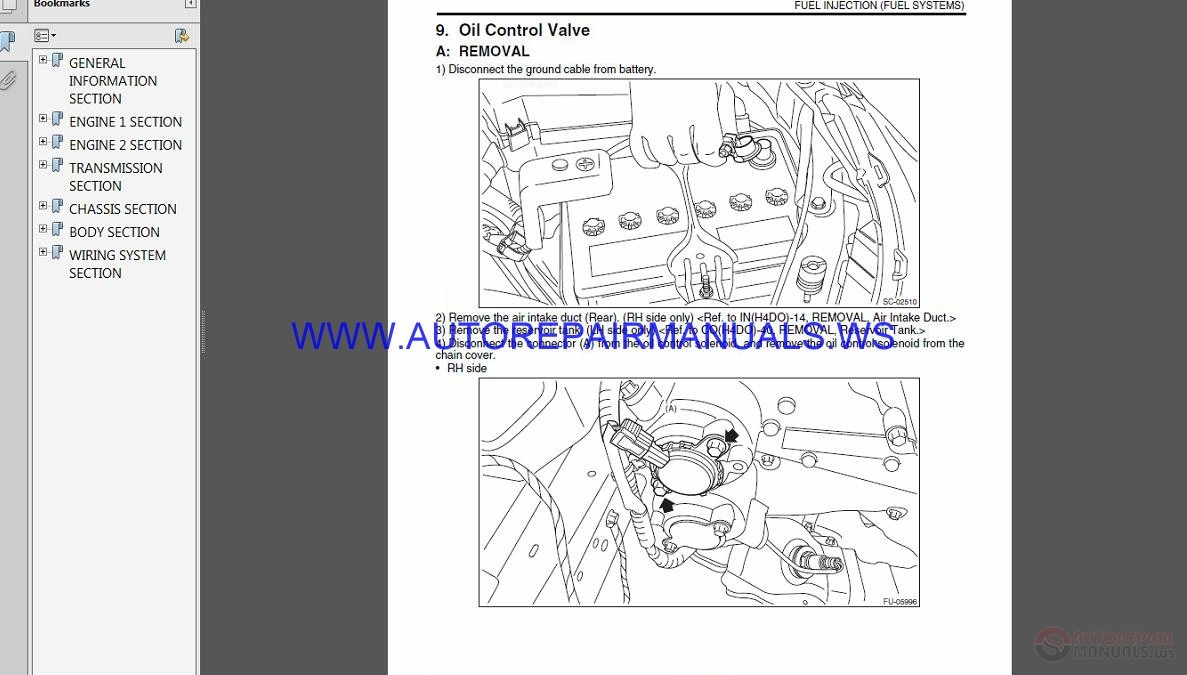 Subaru Forester S12 2011 Service Manual