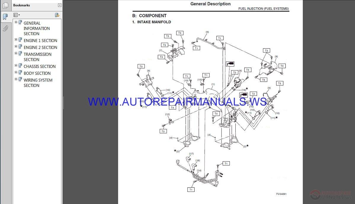 Subaru Impreza G12 2009 Service Manual