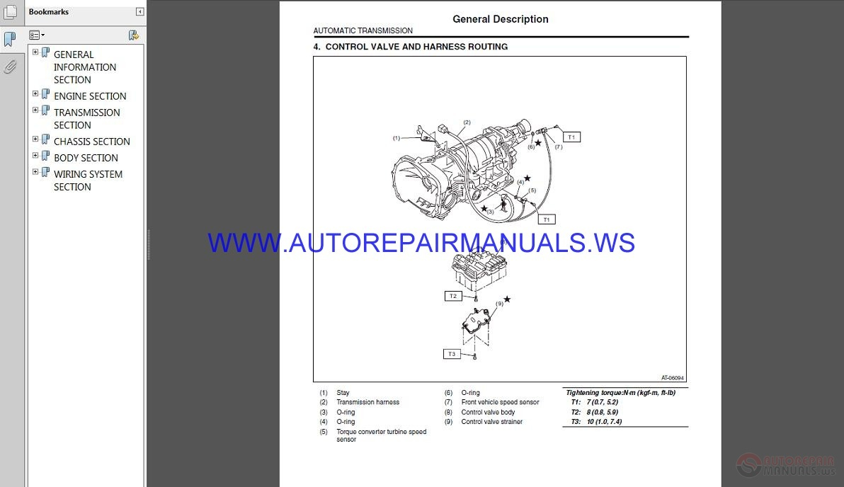 Subaru Impreza G12 2011 Service Manual