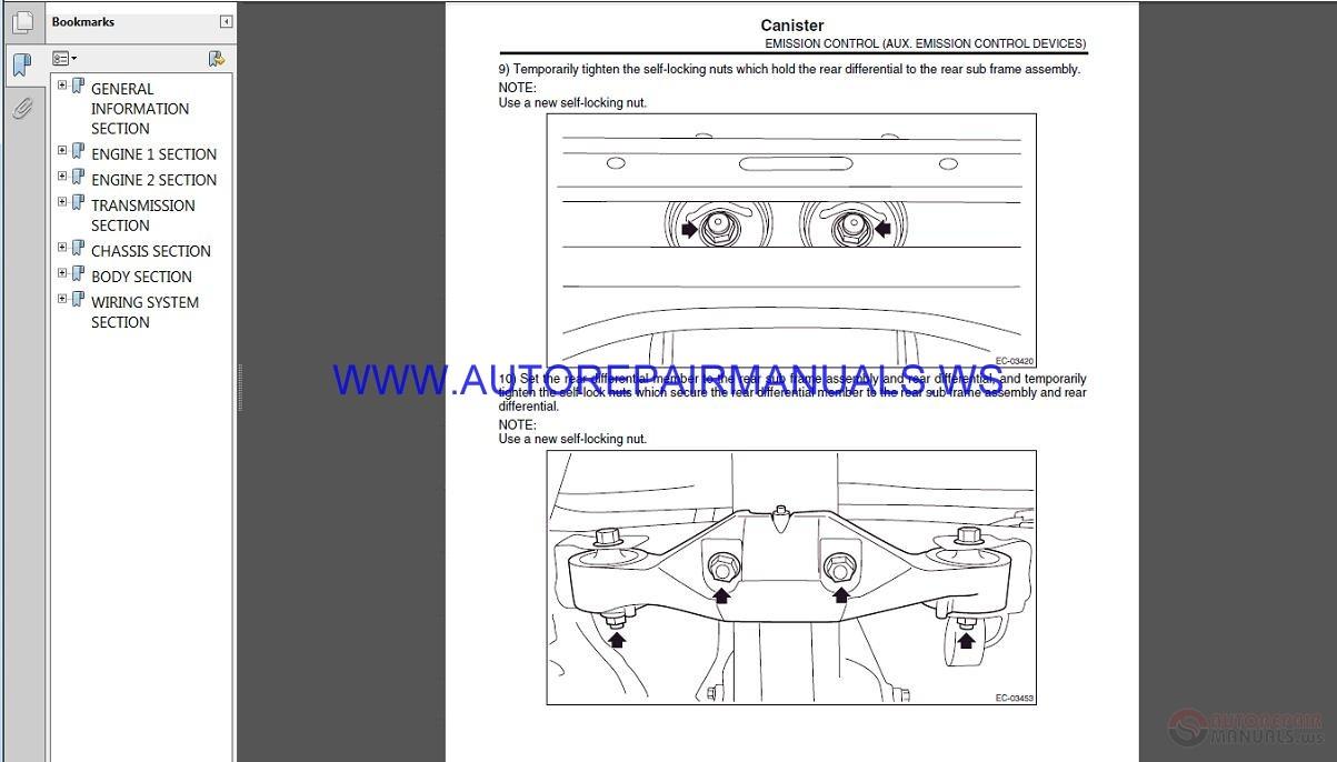 subaru wrx sti v10 2017 service manual auto repair. Black Bedroom Furniture Sets. Home Design Ideas