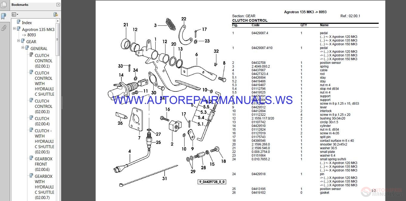 Business, Office & Industrial Agriculture/Farming parts catalog in ...