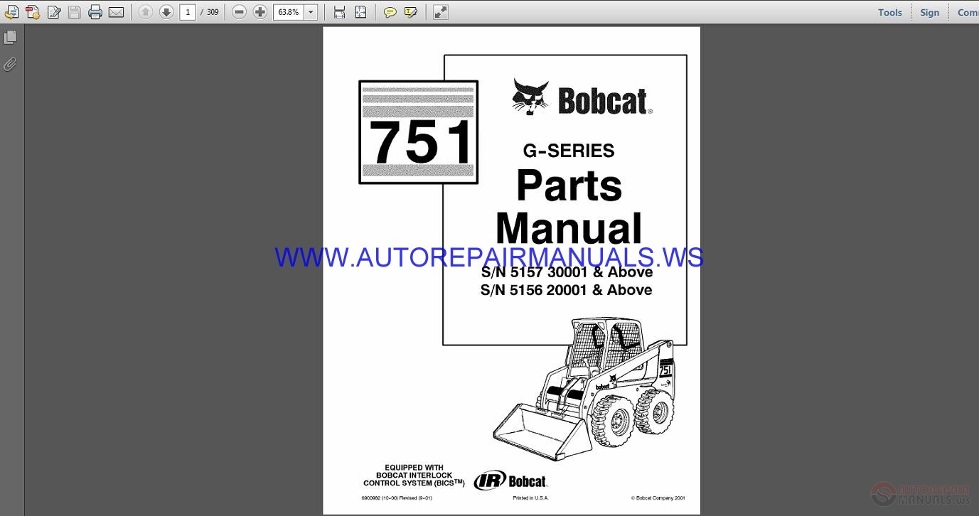 Operation & Maintenance Manual S185 Skid-Steer Loader