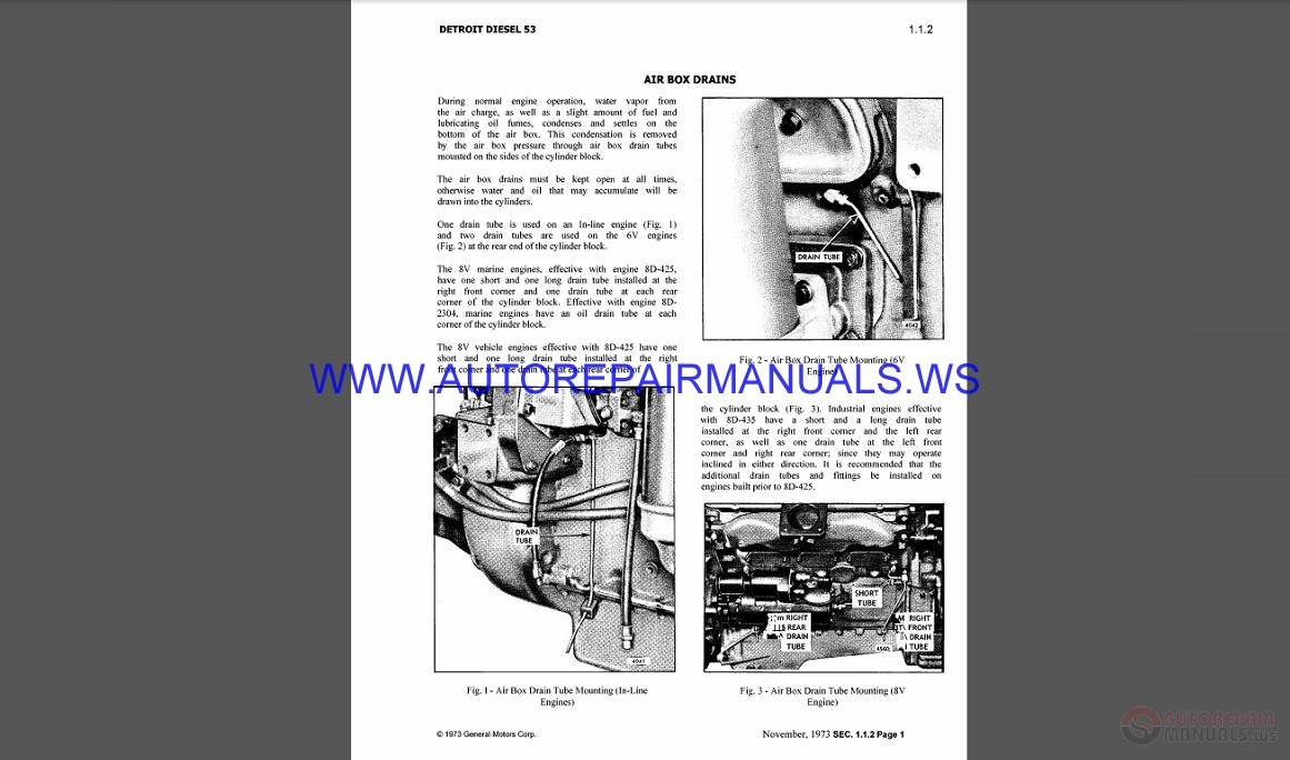 Ddec 4 Wiring Schematic Detroit Wiring Diagrams Auto Repair Manual