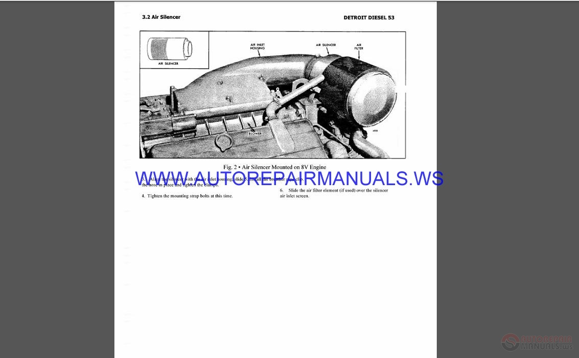 Detroit Diesel Engines Series 53 Parts Manual | Auto ...