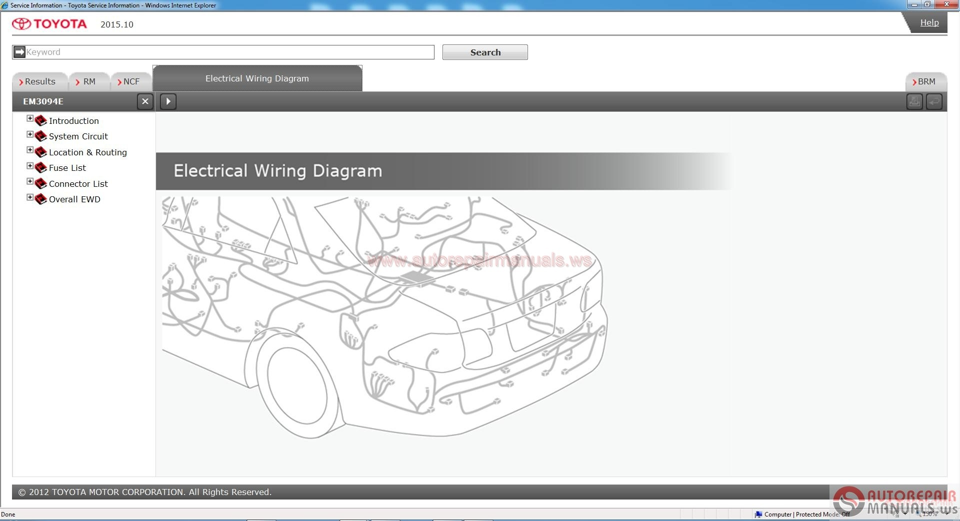 Toyota Service Manual, Workshop Manual, Wiring Diagram DVD ...