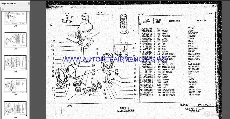 Fiat Allis 14c Parts : Fiat allis wheel loader fl e parts catalog auto repair