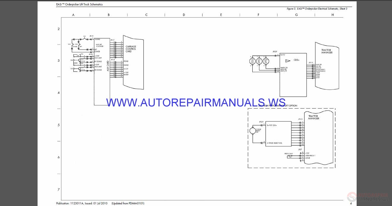 blue bird wire diagrams blue bird wiring schematics raymond easi order picker lift truck schematics manual