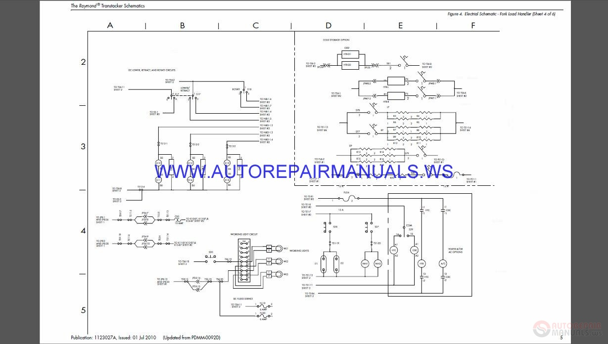 Raymond Trt Transtacker Schematics Manual