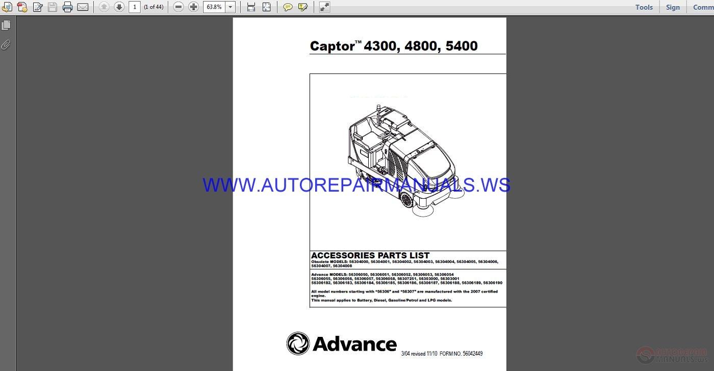 Fillable online captor 4300b, 4800b advance-ca. Com fax email.