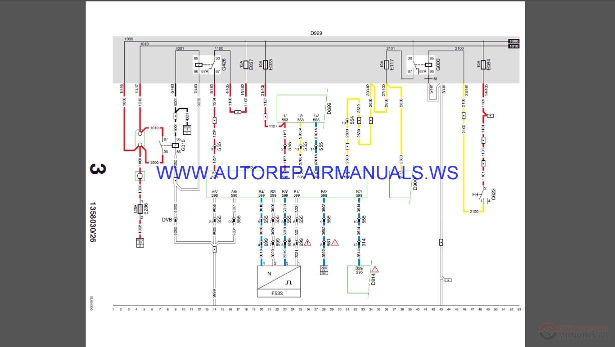 DAF    Wiring       Diagram    Manual   Auto Repair Manual Forum