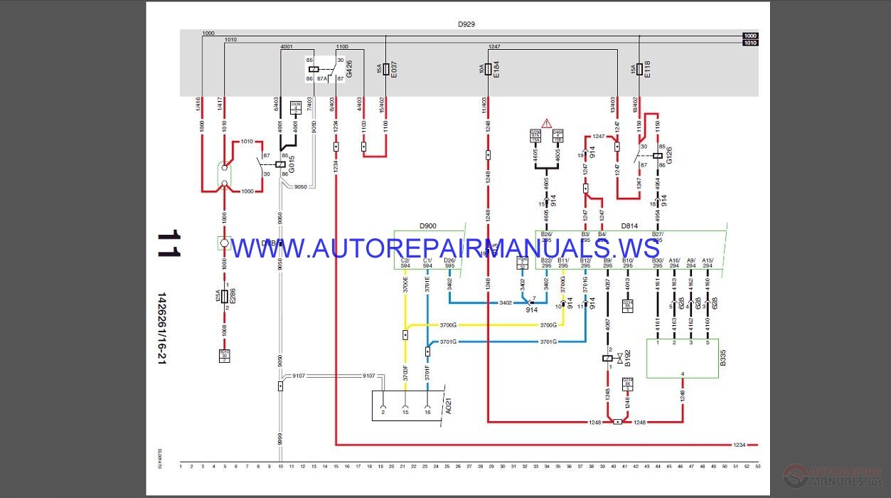 Daf Wiring Diagram Manual on Electrical Wiring Diagram